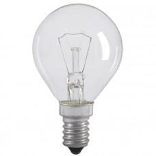 Лампа накаливания G45 шар прозр. 40Вт E14 IEK LN-G45-40-E14-CL