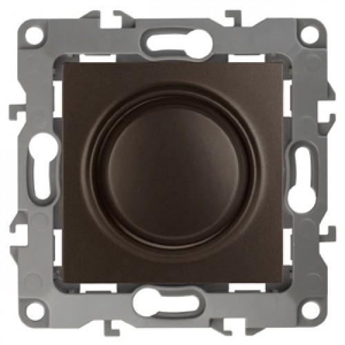 12-4101-13  ЭРА Светорегулятор поворотно-нажимной, 400ВА 230В, Эра12, бронза Б0019363
