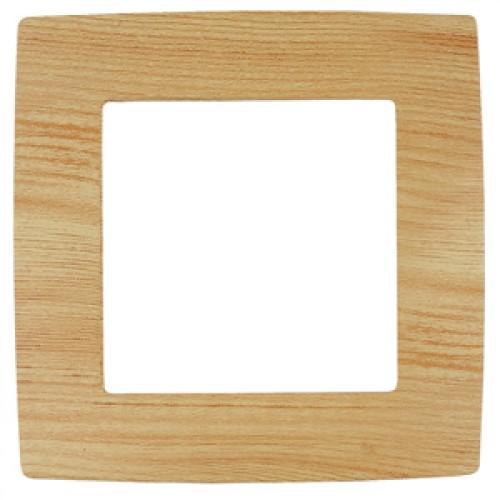 12-5001-11  ЭРА Рамка на 1 пост, Эра12, сосна Б0019146