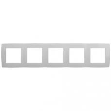 12-5005-01 ЭРА Рамка на 5 постов, Эра12, белый Б0014781