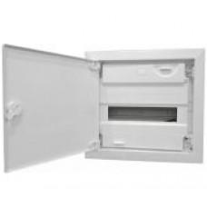 KLV-12UPS-F Компактный щит, встраиваемое исполнение, 1 ряд, стальная дверь 178814
