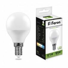 Лампа светодиодная LB-550 (9W) 230V E14 4000K G45 25802