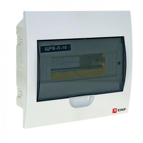 Щит распред. встраиваемый ЩРВ-П-10 IP41 EKF PROxima pb40-v-10