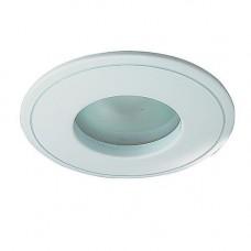 369305 NT09 289 белый свет Встраиваемый НП светильник IP65 GX5.3 50W 12V AQUA 369305