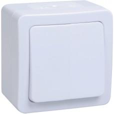 ВСк20-1-0-ГПБ выкл 1кл  кноп. о/у  IP54 (цвет клавиш: белый) ГЕРМЕС PLUS EVMP13-K01-10-54-EC
