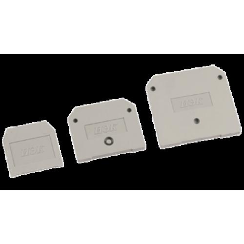Заглушка для ЗНИ-16мм2 (JXB100A) серый ИЭК YZN10D-ZGL-016-K03