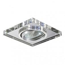 002524 Светильник RIFLE QUA CR MR16/HP16 ПОВОРОТ  ХРОМ/ЗЕРКАЛЬНЫЙ (в комплекте), шт 002524