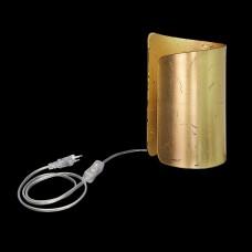 811912 (MT6000-1GL) Настольная лампа  PITTORE 1х40W  E27 GOLDEN (в комплекте), шт 811912