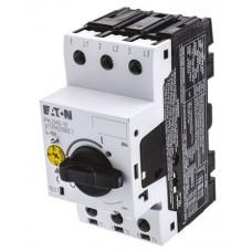 PKZM0-10 Автомат. выкл. защиты двигателя 10А, 3 полюса, откл.способность 150кА, диапазон уставки 6,3...10А 072739