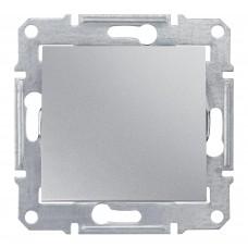 Sedna Алюминий Выключатель 1-клавишный 10 А (сх.1) SDN0100160