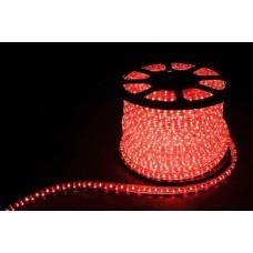 Дюралайт  LED 3WAY 50м квадр. 11х17мм 230V 72LED/м 2,88Вт/м, (2м/отрез), 2 аксесс., красный/ LED-F3W 26067