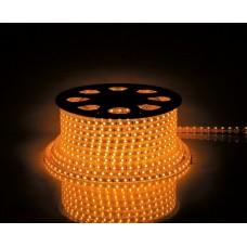 LS707/LED-RL 30SMD(5050)/м 7.2Вт/м 220V IP68, длина 50м, 14мм*8мм, желтый 26253