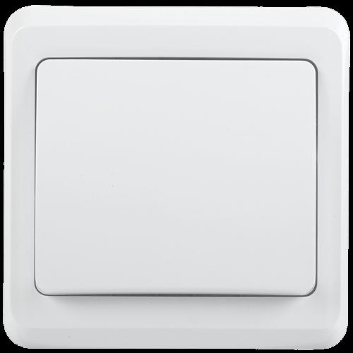 ВС10-1-0-ВБ Выключатель 1кл 10А ВЕГА (белый) IEK EVV10-K01-10-DM
