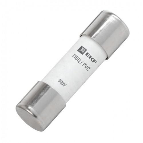 Плавкая вставка цилиндрическая ПВЦ (14х51) 63А EKF PROxima pvc-14x51-63