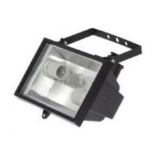 Прожектор НО 2х26-001 черный Al *4179