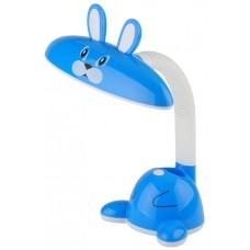 NLED-431-5W-BU настольная лампа LED синяя ЭРА Б0019777