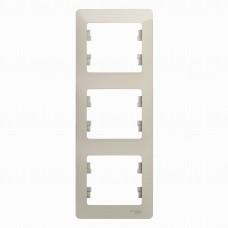 SE Glossa Молочный Рамка 3-ая, вертикальная SE GSL000907