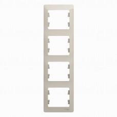 SE Glossa Молочный Рамка 4-ая, вертикальная SE GSL000908