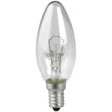Лампа ЭРА ДС (B35) 40Вт 230V E14 свечка, прозр. в цветной гофре Б0017696
