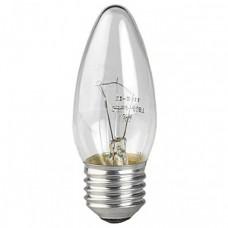 Лампа ЭРА ДС (B35) 40Вт 230V E27 свечка, прозр. в цветной гофре Б0017697