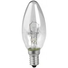 Лампа ЭРА ДС (B35) 60Вт 230V E14 свечка, прозр. в цветной гофре Б0017698