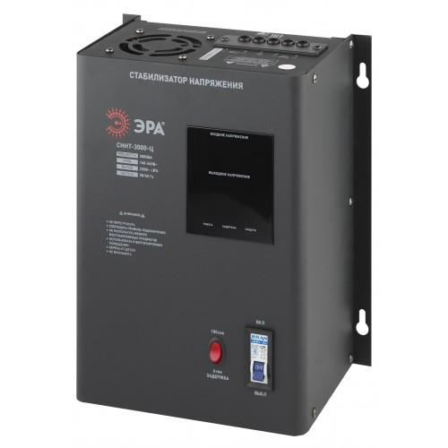 СННТ-3000-Ц ЭРА Стабилизатор напряжения настенный, ц.д., 140-260В/220/В, 3000ВА (40) Б0020169
