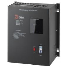 СННТ-8000-Ц ЭРА Стабилизатор напряжения настенный, ц.д., 140-260В/220/В, 8000ВА (1) Б0020171