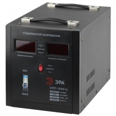 СНПТ-10000-Ц ЭРА Стабилизатор напряжения переносной, ц.д., 140-260В/220/В, 10000ВА (24) Б0020164