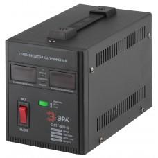 СНПТ-500-Ц ЭРА Стабилизатор напряжения переносной, ц.д., 140-260В/220/В, 500ВА (8/144) Б0020157