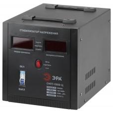 СНПТ-5000-Ц ЭРА Стабилизатор напряжения переносной, ц.д., 140-260В/220/В, 5000ВА (32) Б0020162
