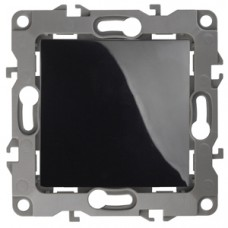 12-1101-06 ЭРА Выключатель, 10АХ-250В, Эра12, чёрный (10/100/2800) Б0014626