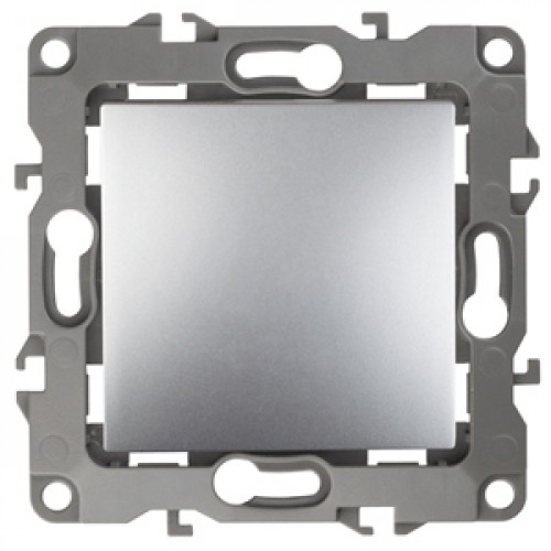 12-1103-03 ЭРА Переключатель, 10АХ-250В, Эра12, алюминий (10/100/2500) Б0014641