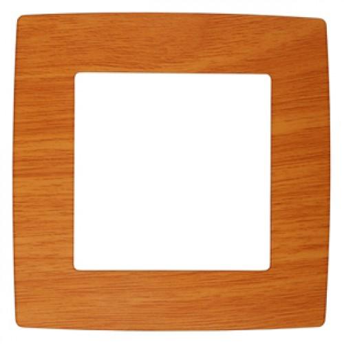 12-5001-07 ЭРА Рамка на 1 пост, Эра12, ольха (20/200/5000) Б0014747