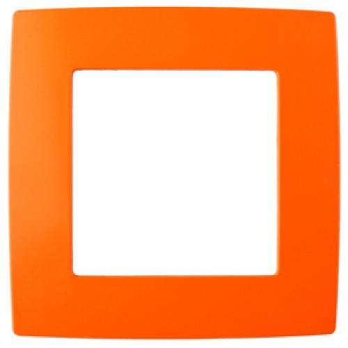 12-5001-22 ЭРА Рамка на 1 пост, Эра12, оранжевый (20/200/5000) Б0019387
