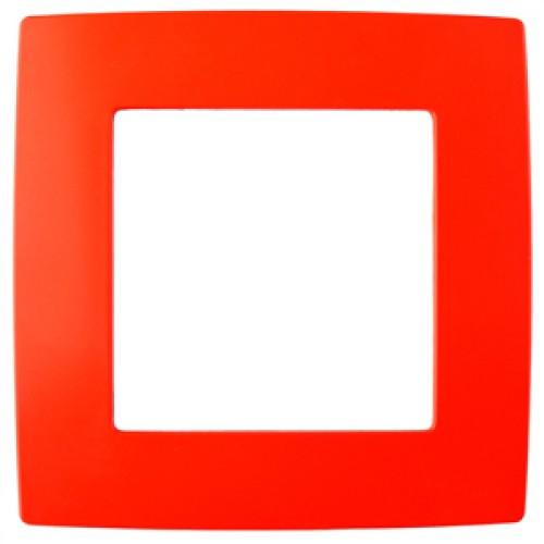 12-5001-23 ЭРА Рамка на 1 пост, Эра12, красный (20/200/5000) Б0019388