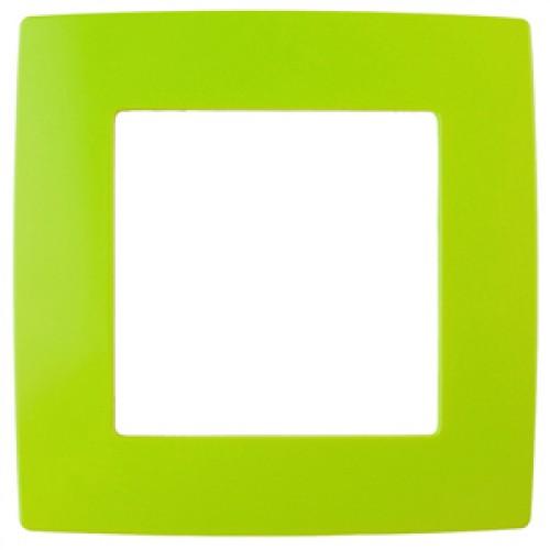 12-5001-26 ЭРА Рамка на 1 пост, Эра12, лайм (20/200/5000) Б0019391