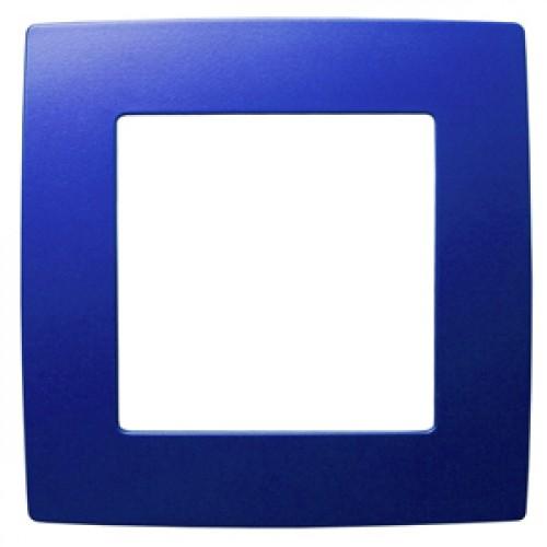 12-5001-29 ЭРА Рамка на 1 пост, Эра12, ультрамарин (20/200/6400) Б0019394
