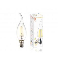 Светодиодная лампа Filament LED C37L-F 6W E14 3000K (60W) 202214