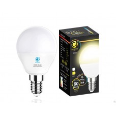 Светодиодная лампа LED B45-PR 6W E14 3000K (60W) 204114