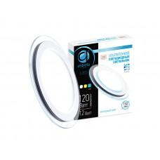 Ультратонкий светильник DCR 12W 6400K 185-250V (120W) *302126