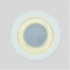 Светодиодный светильник DAYLIGHT S340/12+4 белый/теплый (3 режима) круглый без стекла (D180/A150) S340/12+4