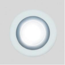 Светодиодный светильник DAYLIGHT S340/4+3 белый/теплый (3 режима) круглый без стекла (D110/A85) *S340/4+3