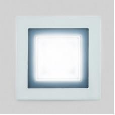 Светодиодный светильник DAYLIGHT S350/4+3 белый/теплый (3 режима) квадратный без стекла (D110/A85) S350/4+3