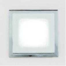 Светодиодный светильник DAYLIGHT S440/6+2 белый/теплый (3 режима) круглый со стеклом (D130/A80) *S440/6+2