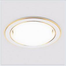 Встраиваемый точечный светильник G170 PS/G перламутровый/золото GX53 *G170 PS/G