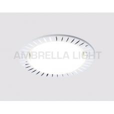 Встраиваемый точечный светильник G816 W белый GX53 G816 W