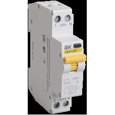 АВДТ32М С16 10мА - Автоматический Выключатель Диф. Тока ИЭК MAD32-5-016-C-10