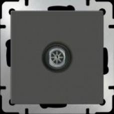 ТВ-розетка проходная / WL07-TV-2W  (серо-коричневый) a033756
