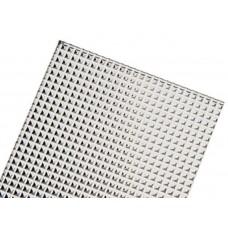 Рассеиватель для грильято с рамкой 1188*180 микропризма (1182*174 мм) V2-R0-MP00-02.2.0022.20