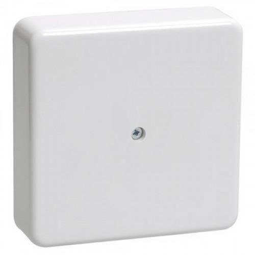 Коробка КМ41216-01 распаячная для о/п 75х75х28 белая (6 клемм 6мм2) UKO10-075-075-028-K01